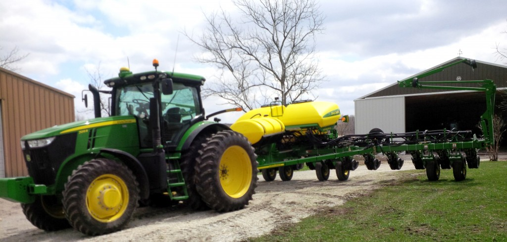 New variable-rate planter in 2014!
